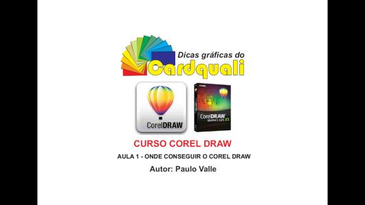 Curso de CorelDraw - Aula 1