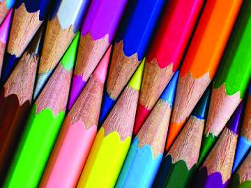 Atenção: existem muitos padrões de cores